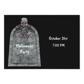 Tombstone - Halloween Party Invitation