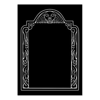 Tombstone Large Business Cards (Pack Of 100)