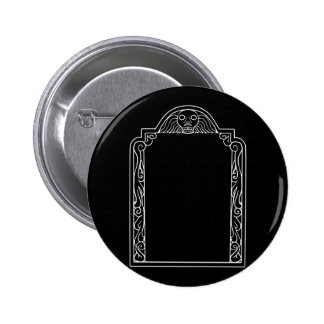 Tombstone Pinback Button