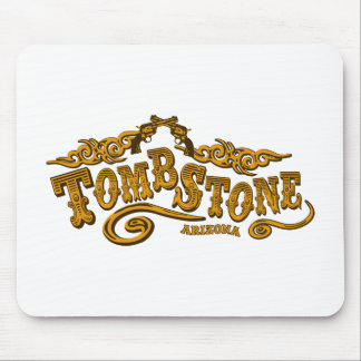 Tombstone Saloon Mouse Pad