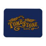 Tombstone Saloon Vinyl Magnet