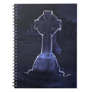 Tombstone Spiral Notebook