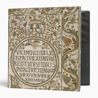Tombstone with an epitaph vinyl binders