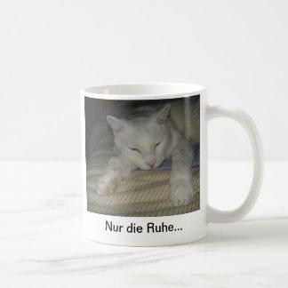 Tomcat, cat, cup, mug, only the peace… coffee mug