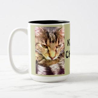 Tomcat Charly Two-Tone Coffee Mug