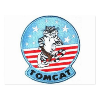 TOMCAT F-14 -- THE FINEST THAT EVER FLEW POSTCARD
