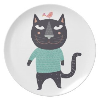 Tomcat Kasimir Party Plates