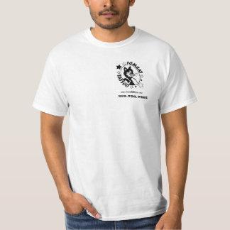 Tomcat Tattoo Basic white T-Shirt