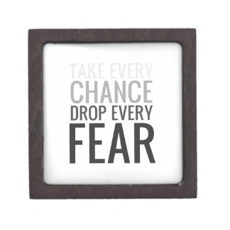 Tome a cada descenso de la ocasión cada miedo caja de regalo de calidad