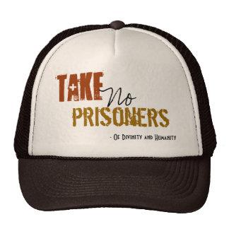 Tome a ningunos presos el gorra
