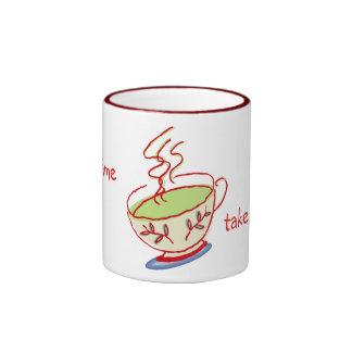 Tome a rotura las tazas del té verde