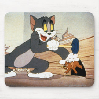 Tome And Jerry Plunger Mouse Pad