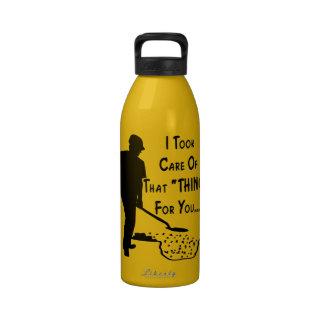 """Tomé cuidado de esa """"cosa"""" para usted botella de agua reutilizable"""
