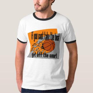 Tome el calor - baloncesto camisas