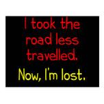 Tomé el camino viajé menos tarjetas postales