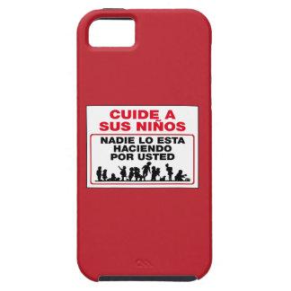 Tome el cuidado de sus niños, muestra, México iPhone 5 Case-Mate Carcasa