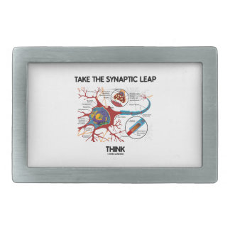 Tome el salto sináptico piensan (la sinapsis de la hebilla de cinturon rectangular