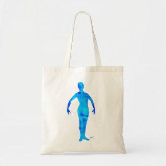 Tome el sol en bailarín azul bolsas de mano