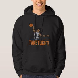 Tome el vuelo jersey con capucha