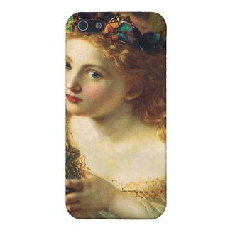 Tome la cara justa de la mujer - Sophie Anderson iPhone 5 Carcasa