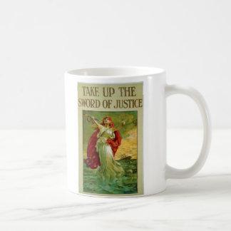 Tome la espada de la justicia por la perdiz de Ber Tazas