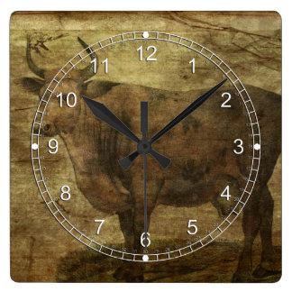Tome la vaca por los cuernos reloj