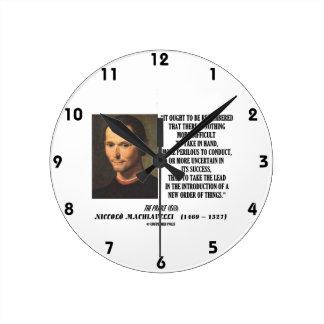 Tome la ventaja en la nueva orden de la introducci reloj redondo mediano