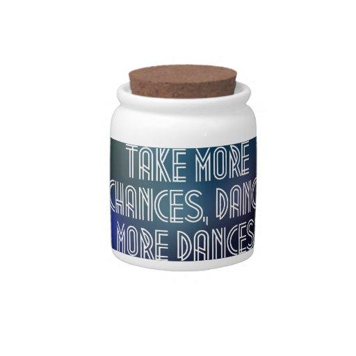 Tome más ocasiones, baile más danzas plato para caramelo