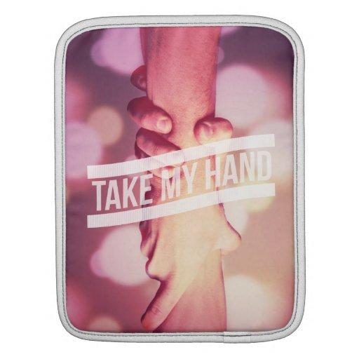 Tome mi mano manga de iPad