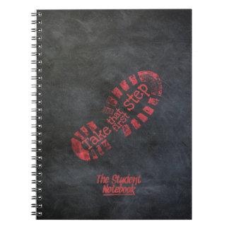 Tome que cuaderno del primer paso