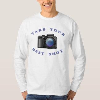 """""""Tome su camiseta del mejor tiro"""" (con una cámara)"""