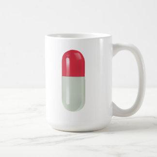 Tome sus meds taza básica blanca
