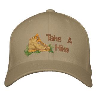 Tome un alza gorras de béisbol bordadas