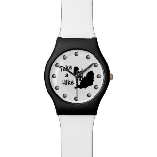 Tome un alza relojes de pulsera