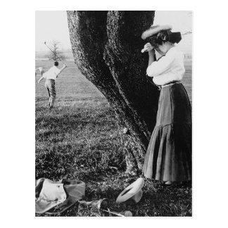 Tome un Mulligan, 1906 Postales