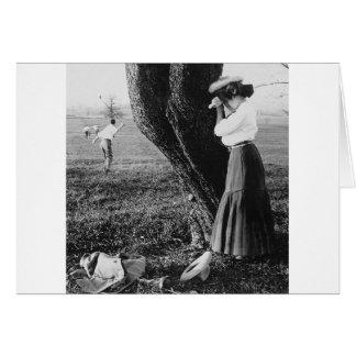 Tome un Mulligan, 1906 Tarjeton