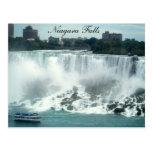 Tome un paseo a través de la postal de Niagara Fal