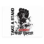Tome un soporte contra cáncer de cerebro postal