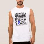 Tomé un soporte contra cáncer de colon y gané camisetas sin mangas