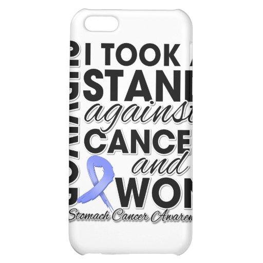 Tomé un soporte contra cáncer de estómago y gané