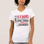 Tome un soporte contra cáncer de hueso camisetas