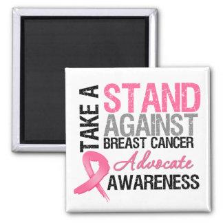 Tome un soporte contra cáncer de pecho imanes para frigoríficos