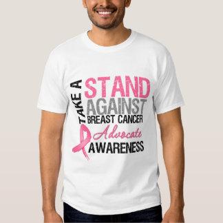 Tome un soporte contra cáncer de pecho playeras
