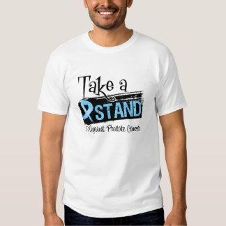 Tome un soporte contra cáncer de próstata camisas
