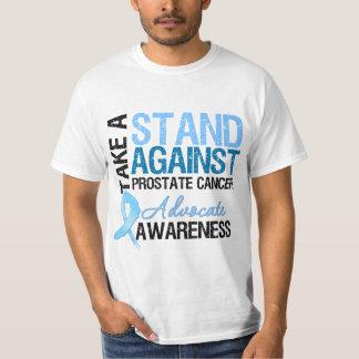Tome un soporte contra cáncer de próstata poleras