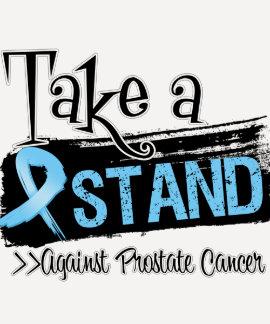 Tome un soporte contra cáncer de próstata remera