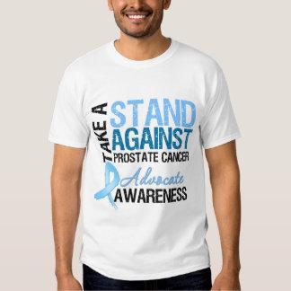 Tome un soporte contra cáncer de próstata remeras