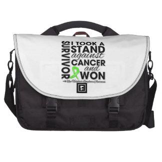 Tomé un soporte contra cáncer del linfoma no-Hodgk Bolsas Para Portatil