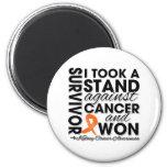 Tomé un soporte contra cáncer del riñón y gané iman