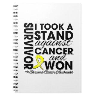 Tomé un soporte contra cáncer del sarcoma y gané libreta